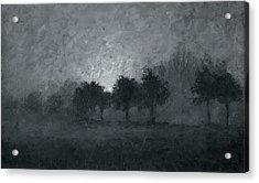 Morning Mist 3 Acrylic Print