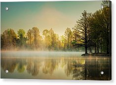 Acrylic Print featuring the photograph Morning Mist At Honor Heights  by James Barber