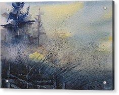 Morning Mist Acrylic Print by Debra LePage