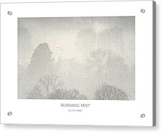 Acrylic Print featuring the digital art Morning Mist by Julian Perry