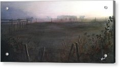 Morning Mist Acrylic Print by Victoria Heryet
