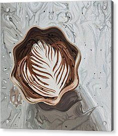 Morning Mocha Acrylic Print