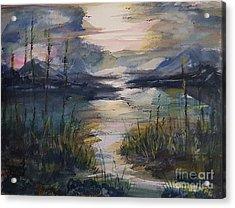 Morning Mountain Cove Acrylic Print