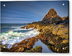 Acrylic Print featuring the photograph Morning On Bailey Island by Rick Berk