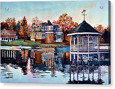 Morning On Silver Lake Acrylic Print