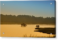 Morning On The Bay Acrylic Print by Bill Cannon