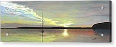 Morning On The Bay Acrylic Print