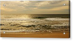 Morning On The Beach - Jersey Shore Acrylic Print