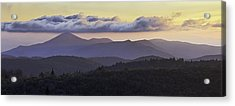 Morning On The Blue Ridge Parkway Acrylic Print by Rob Travis