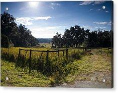 Morning On The Farm Acrylic Print