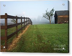 Morning On The Farm Acrylic Print