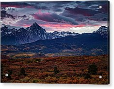 Acrylic Print featuring the photograph Morning Over The Rockies by Andrew Soundarajan