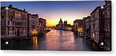 Acrylic Print featuring the photograph Morning Over Venice by Andrew Soundarajan