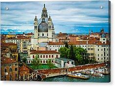 Morning Over Venice Acrylic Print by Ken Andersen