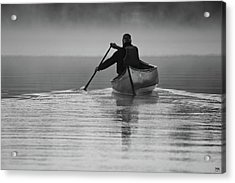 Morning Paddle Acrylic Print