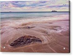 Morning Pastels Singing Beach Ma Acrylic Print