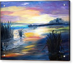 Morning Acrylic Print by Phil Burton