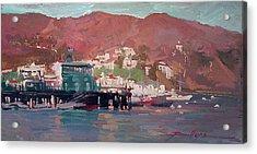 Morning Pleasures - Catalina Harbor Acrylic Print