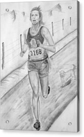 Morning Race Acrylic Print by Russ  Smith