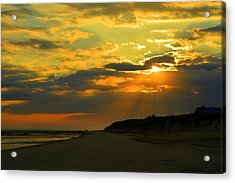 Morning Rays Over Cape Cod Acrylic Print by Dianne Cowen