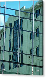 Morning Reflection Acrylic Print by Don Prioleau