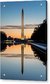 Acrylic Print featuring the photograph Morning Reflections by Ryan Wyckoff