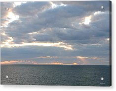 Morning Seascape  Acrylic Print by Bill Perry