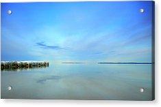 Morning Sky Reflections Acrylic Print