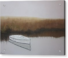 Morning Solitude Acrylic Print by Harvey Rogosin