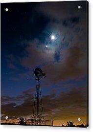 Morning Stars Acrylic Print