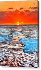 Morning Sun Acrylic Print by Az Jackson
