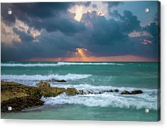 Morning Surf Acrylic Print