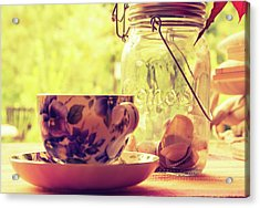 Morning Tea Acrylic Print