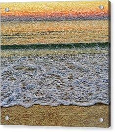 Morning Textures Acrylic Print