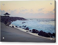 Morning Tide Acrylic Print by Rebecca Robinson