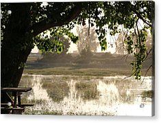 Acrylic Print featuring the photograph Morning Tranquility  by Christy Pooschke