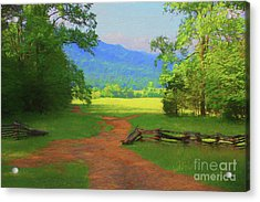 Morning View Acrylic Print