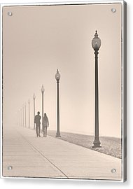 Morning Walk Acrylic Print by Don Spenner