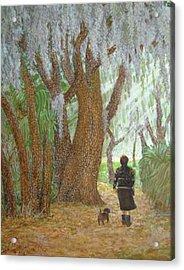 Morning Walk Acrylic Print by Jim Soldo