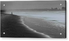 Acrylic Print featuring the photograph Morning Walk by Ron Dubin