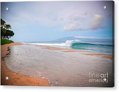 Acrylic Print featuring the photograph Morning Wave by Kelly Wade