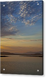 Morning's Colors Acrylic Print by Richard Stephen