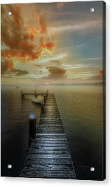 Mornings First Light Acrylic Print by Marvin Spates