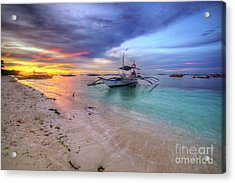 Acrylic Print featuring the photograph Morningtide 2.0 by Yhun Suarez