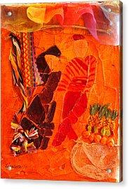 Moroccan Bazaar Acrylic Print