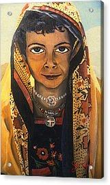 Moroccan Smile Acrylic Print by John Keaton