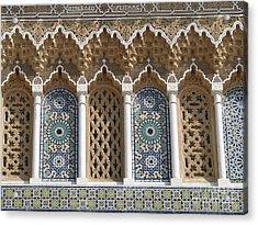 Acrylic Print featuring the photograph Moroccan Tile by Erik Falkensteen