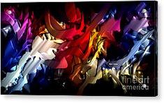 Acrylic Print featuring the digital art Morphism Of Desire by Rafael Salazar