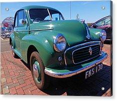 Morris In Green Acrylic Print by Nik Watt