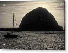 Morro Bay I Toned Acrylic Print by David Gordon